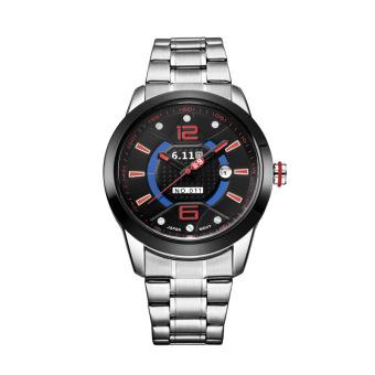 Oxoqo The 6.11 Men's Fashion Movement Of Light Energy Conversion Steel Watch Waterproof Male Calendar Watch GD011