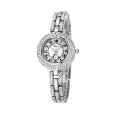 Oxoqo Watch Female Models Genuine YAQIN Yaqin Female Watch 7218 Fashion Female Models Bracelet Watch Fashion Ladies Watches (Silver)
