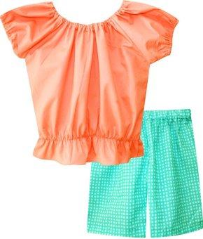 Lazada Baju Anak Papeterie Baju Setelan Anak Orange Lazada