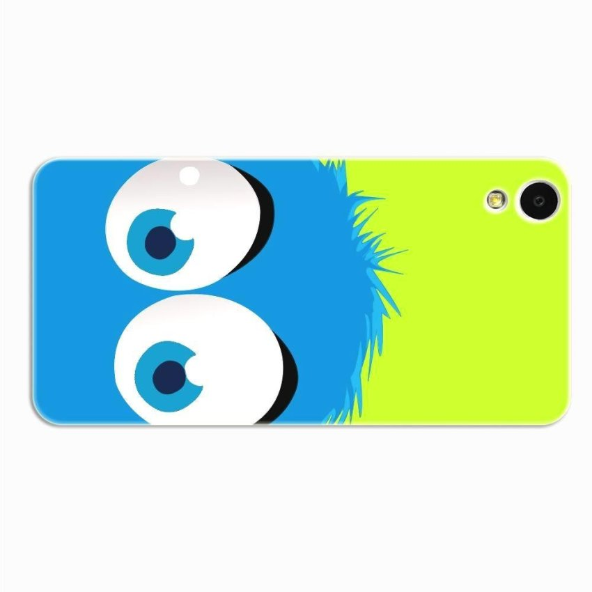 PC Plastic Case for HTC Desire 820 green and blue