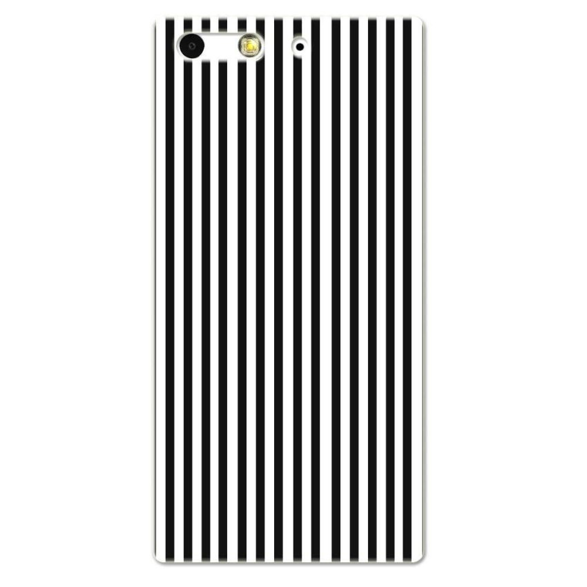 PC Plastic Case for Huawei G6 black-and-white