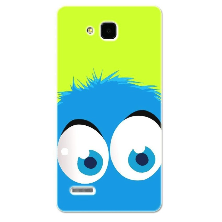 PC Plastic Case for Huawei Honor 3X G750 green and blue