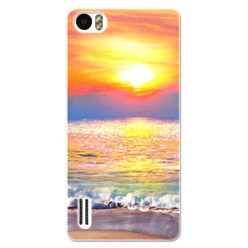 PC Plastic Case for Huawei Honor 6 gold