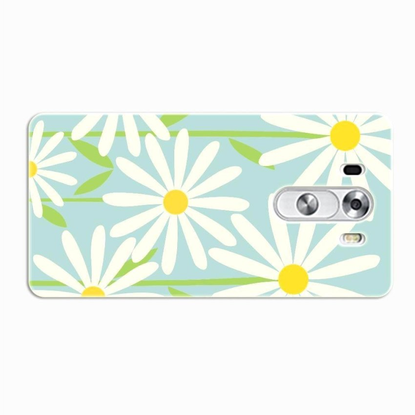 PC Plastic Case for LG G3 blue and white