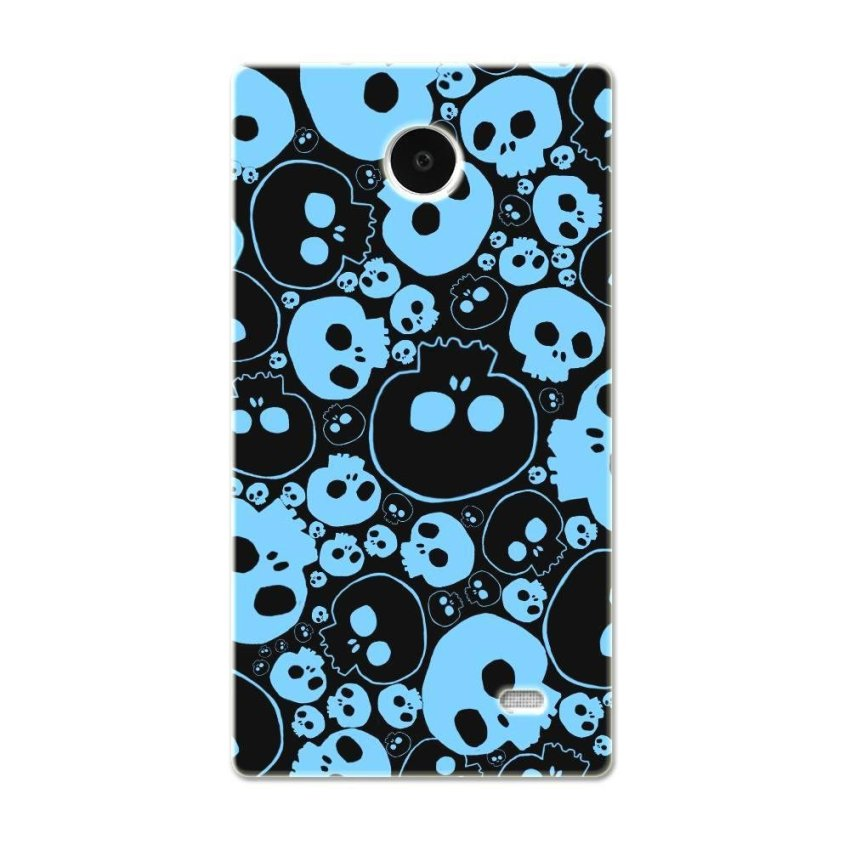 PC Plastic Case for Nokia X black and blue