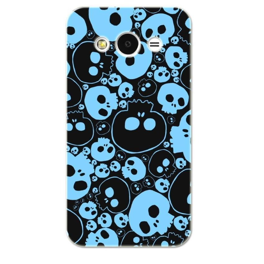 PC Plastic Case for Samsung galaxy Core 2 black and blue