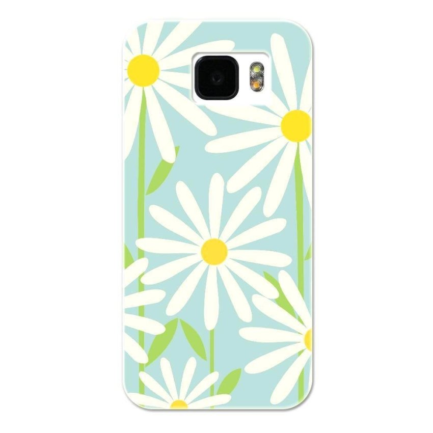 PC Plastic Case for Samsung S6 blue and white