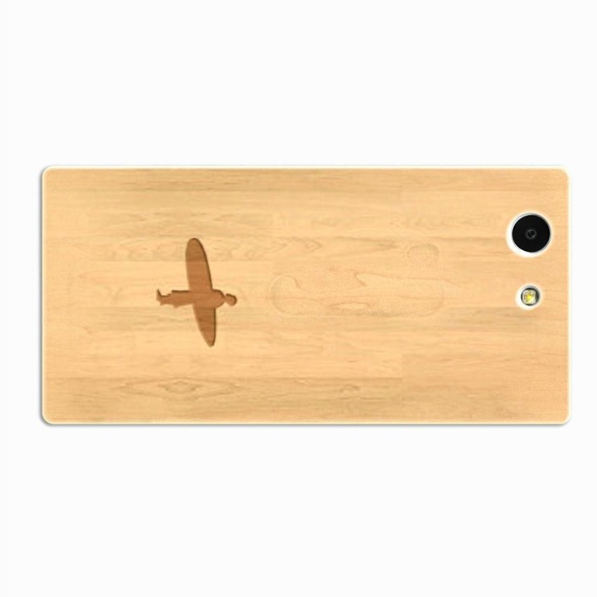 PC Plastic Case for Sony Xperia Z3 Burly Wood
