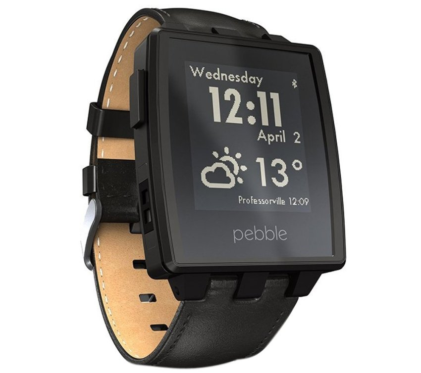 Pebble Steel - Hitam