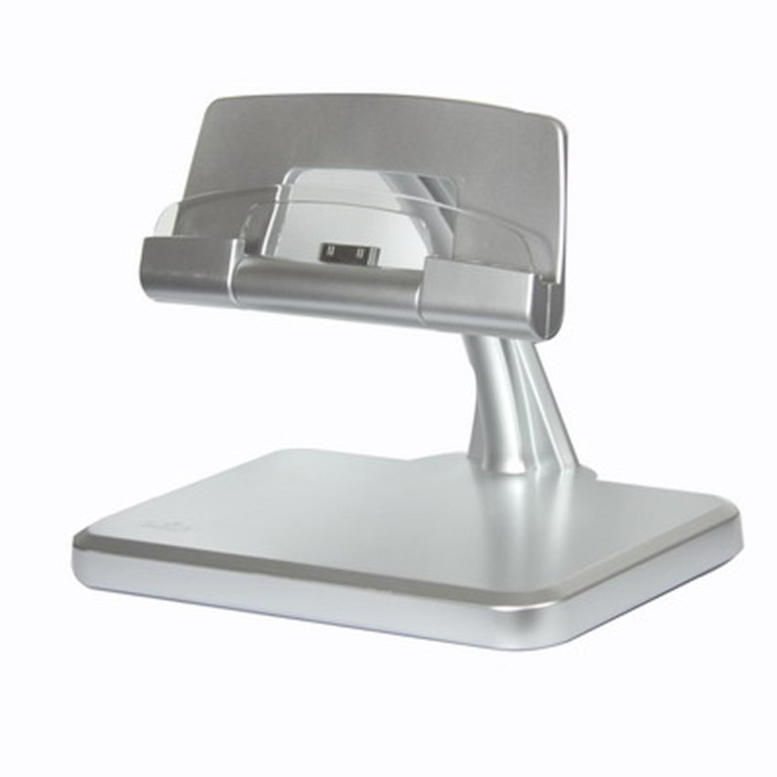 Pega New Rotational Charger Stand for iPad Series - Silver