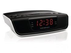 Philips AJ-3123 Alarm Digital Clock Radio - Hitam