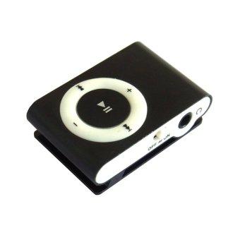 Player MP3 Shuffle MP3 Player - Hitam