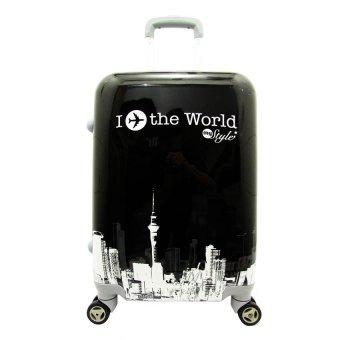 Polo Usbag I Fly World 24 Black White
