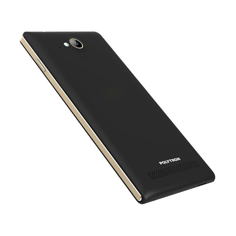Polytron Zap 5 4G450 - 8 GB - Hitam + Gratis Tongsis