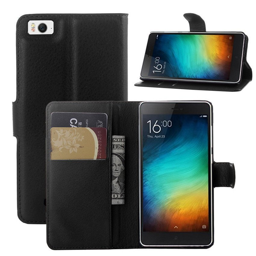PopSky Phone Case for Xiaomi Mi4 (Black)