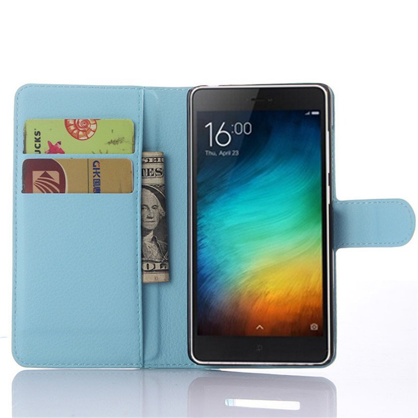 PopSky Phone Case for Xiaomi Mi4 (Blue)