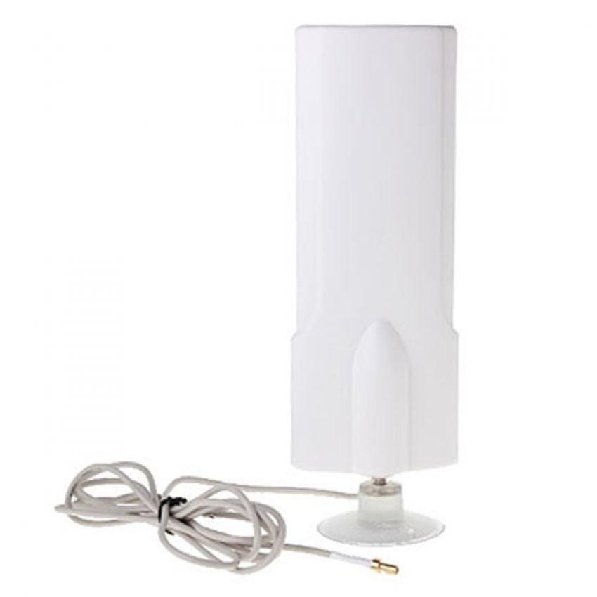 Portable Antena 25dBi Modem Sierra 754s High Gain 3G 4G LTE FDD TDD W-Max 425 Maximal - Putih