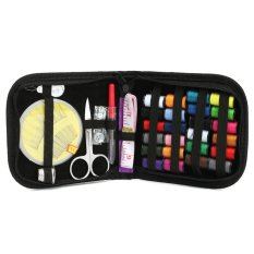 Portable Sewing Kit Case Travel Home Needle Thread Tape Scissor Button Handcraft (Intl)