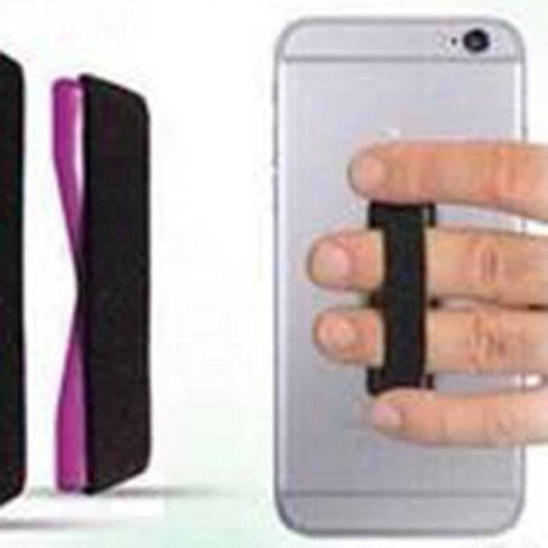 Portable Universal Finger Holder for Cell Phone (Black) (Intl)