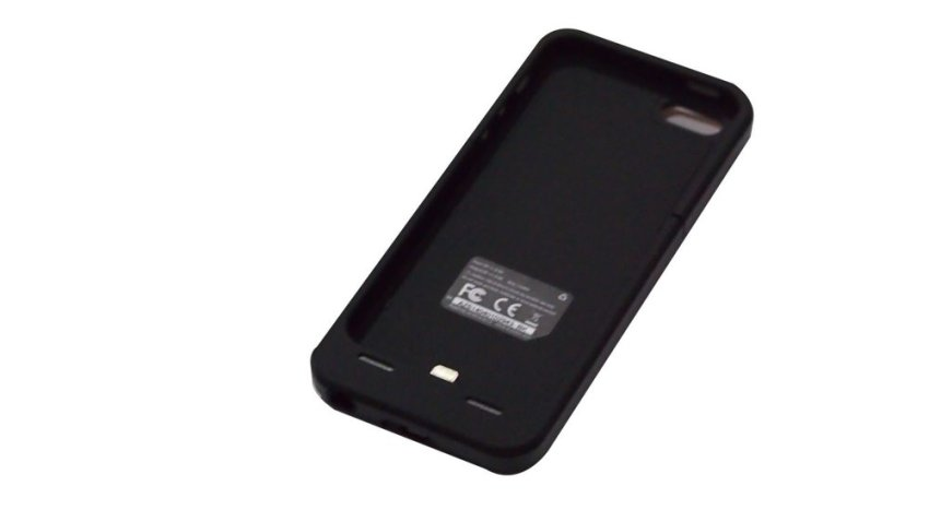 Power Case Battery Case iPhone SE / 5S / 5 - 2500 mAh - Hitam