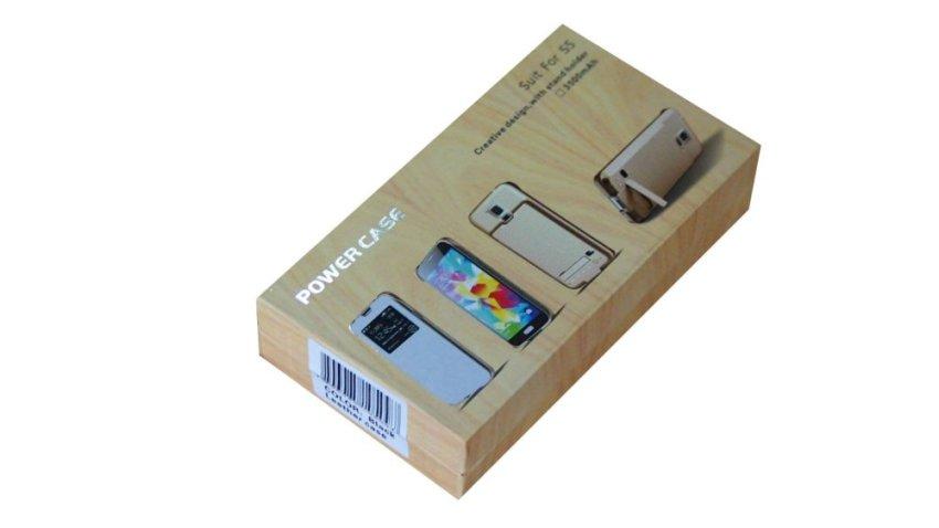 Power Case Battery Case Samsung S5 3500 mah - Putih