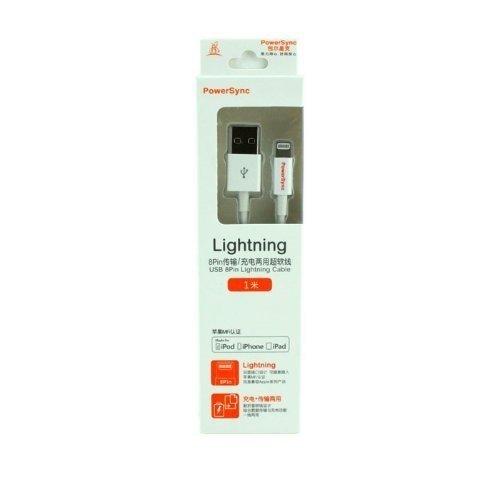PowerSync Lightning 1M - Putih