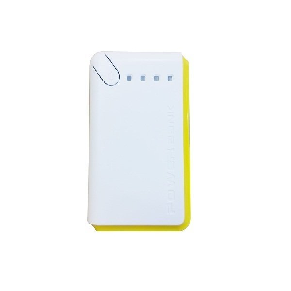 Powertech Powerbank Rainbow 12000mah Yellow