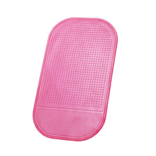 Practical Car Anti-slip Magic Sticky Mat for Phone/PDA/MP3/MP4/Digital Devices (Pink) (Intl)