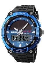 Prado2u SKMEI Solar Power Solar Watch Water Resistant 50M Similar Casio SK1049BL