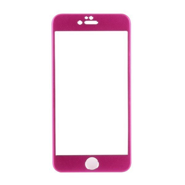 Premium Aluminium Skin Metal Front and Back Cover Sticker for iPhone 6 4.7'' Rose (Intl)