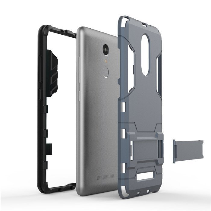 ProCase Xiaomi Redmi Note 3 Shield Armor PC+TPU with Stand - Grey