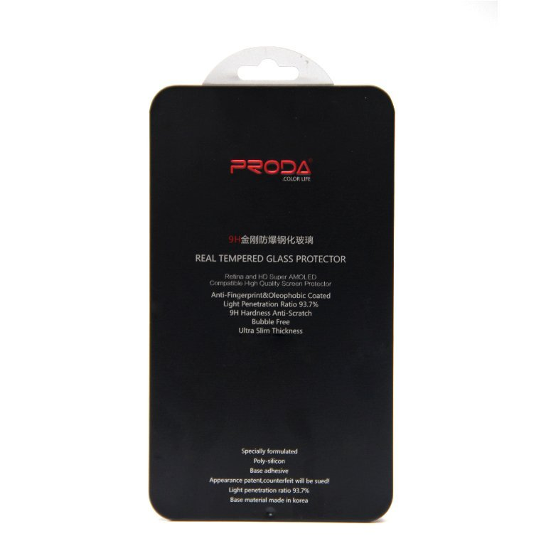 Proda Magic Glass - iPhone 4/ 4S Tempered Glass Screen Protector - 0.22mm 9H Round Cut