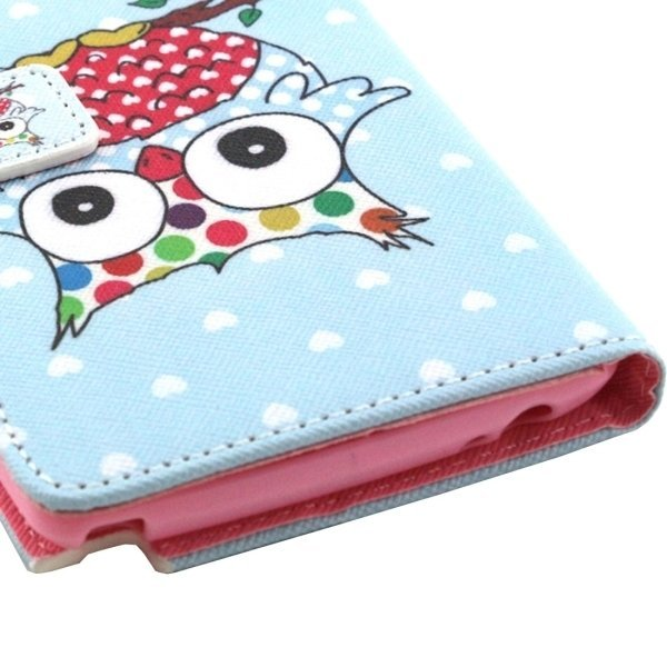 PU Flip Leather Cross Texture Horizontal Cover with Card Slots Wallet Holder for LG Stylus LS770 (Blue) (Intl)
