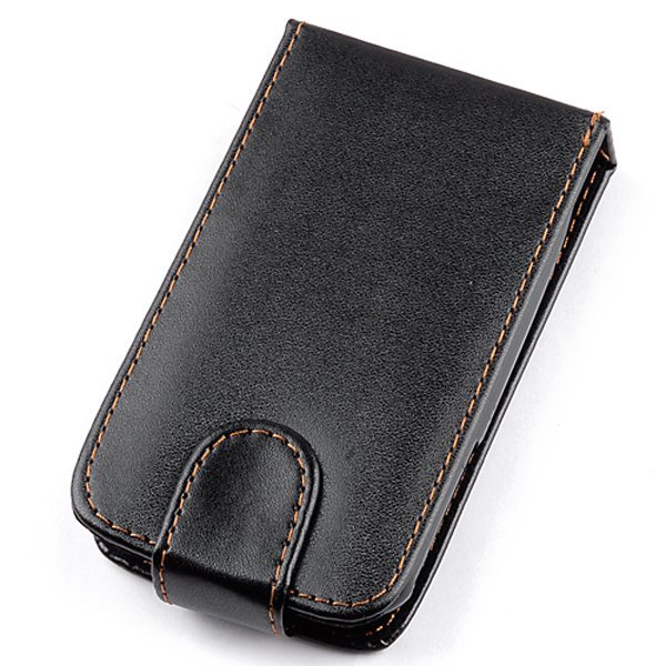 PU Leather Cover for SAMSUNG GALAXY MINI S5570 (Black) (Intl)