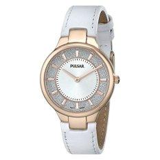 Pulsar Women's PM2130 Analog Display Japanese Quartz White Watch (Intl)