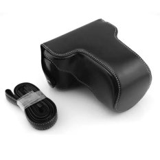 Rajawali Leather Case For Fujifilm X-M1 / X-A2 - HITAM
