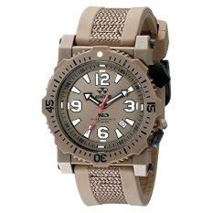 REACTOR Men's 43821 Titan Stainless Steel Watch With Brown Band (Intl) (Intl)