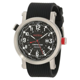 Red Line Men's RL-18003-01 Compressor Stainless Steel Watch With Black Band (Intl)