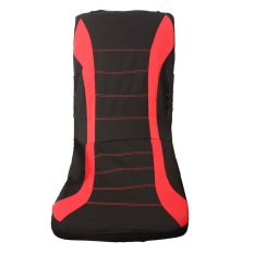 Red TS10 Universal 9 Pcs Car Covers Mesh Sponge Car Styling Interior Accessories Sedans Car Seat Covers Set For Car Care (Intl)