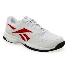 Reebok Court Vision II LP Sepatu Lari Pria - Putih-Excellent Red
