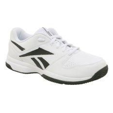 Reebok Court Vision II LP Sepatu Lari Pria - Putih-Hitam