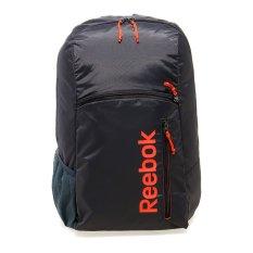 Reebok Element 7 Backpack - Ash Grey-Atomic Red