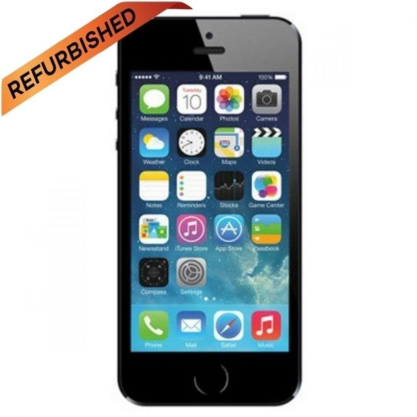 Refurbished Apple iPhone 4 - 32GB - Hitam -Grade A
