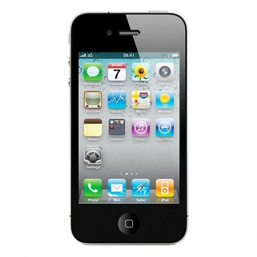 Refurbished Apple Iphone 4 CDMA Smartfren - 16 GB - Hitam - Grade A