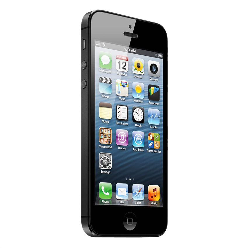 Refurbished Apple Iphone 5 - 64GB - Hitam - Grade A