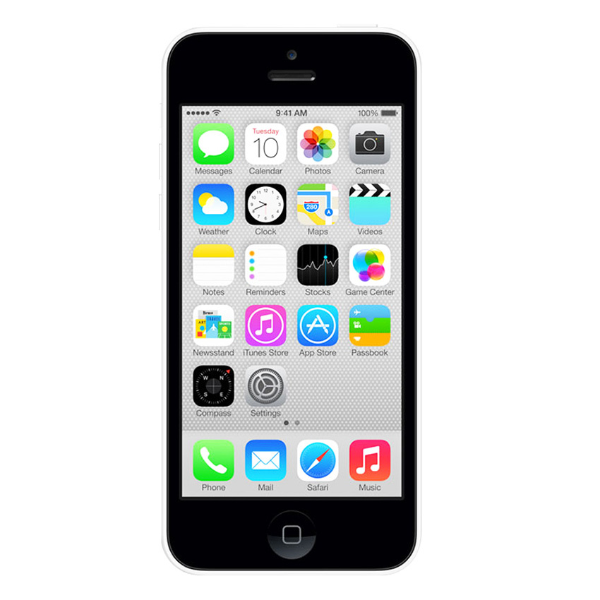 Refurbished Apple iPhone 5C - 16GB - Putih - Grade A