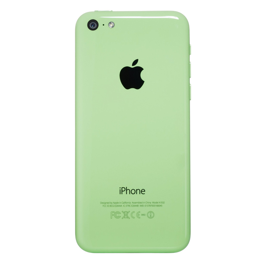 Refurbished Apple iPhone 5C - 32 GB - Hijau - Grade A + Gratis Tempered Glass + Power Bank 20000mAH