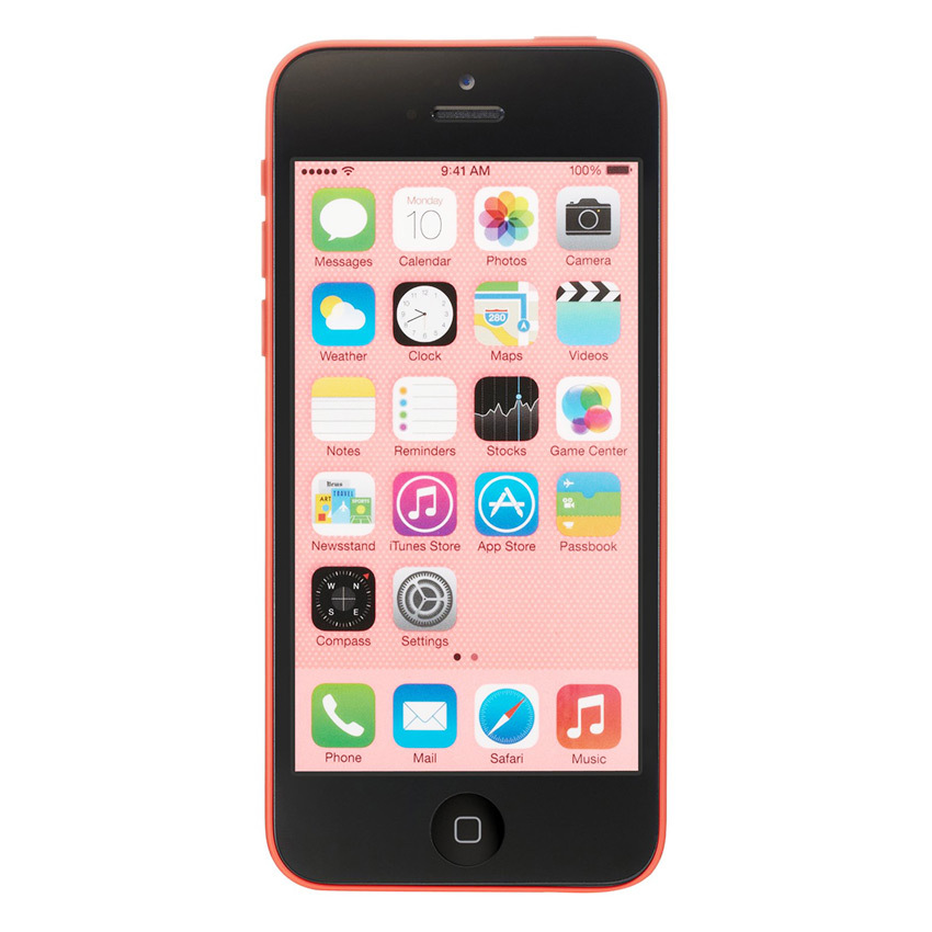 Refurbished Apple iPhone 5C - 32 GB - Pink - Grade A + Gratis Tempered Glass - Power Bank 20000mAH