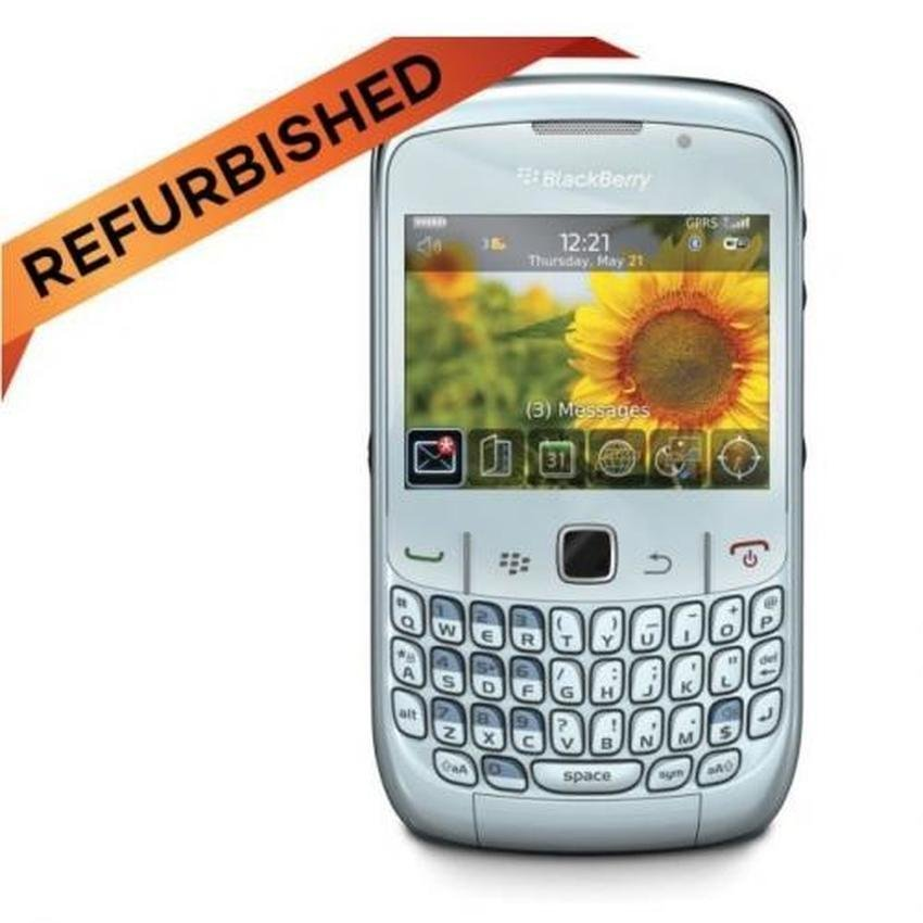 Refurbished Blackberry 9360 - Putih - Grade A - Garansi Distributor