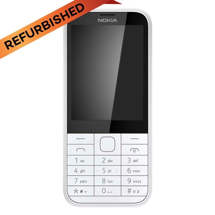 Refurbished Nokia 225 Dual Sim - Putih - Grade A